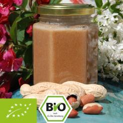 Bio-Honig-Nusscreme mit Erdnussmus