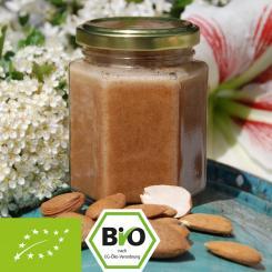 Bio-Honig-Nusscreme mit Mandelmus