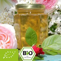 Bio-Akazienhonig mit Rosenwasser