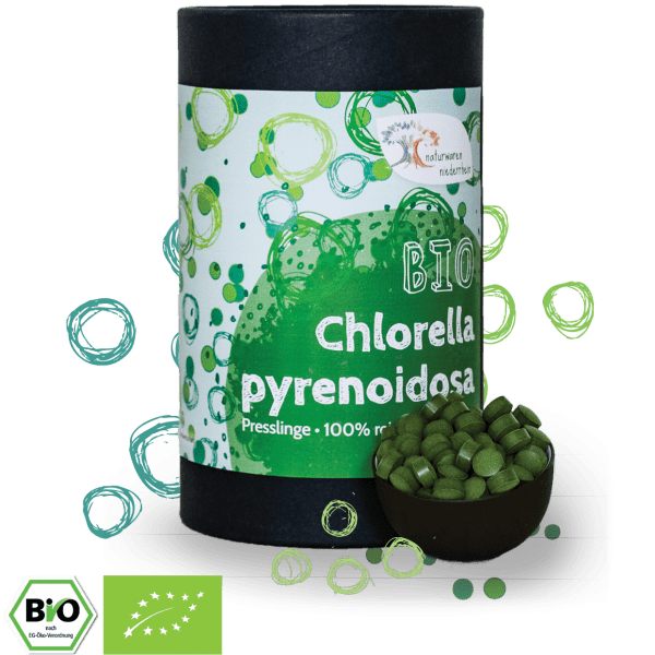 Bio Chlorella Tabletten - 1kg - 500g - 300g - 250g
