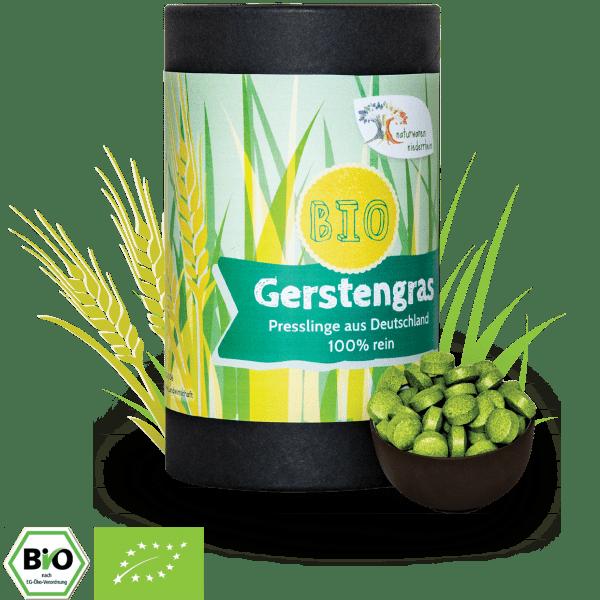 Bio Gerstengras Presslinge - 1 kg - 500 g - 300g - 250 g