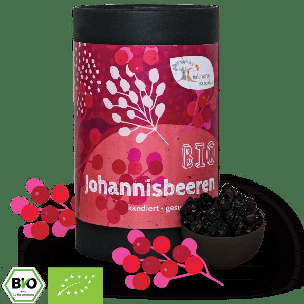 Bio Johannisbeeren - kandiert - herrlich süß