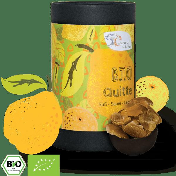 Bio Quitten-Stücke - kandiert - süß & sauer