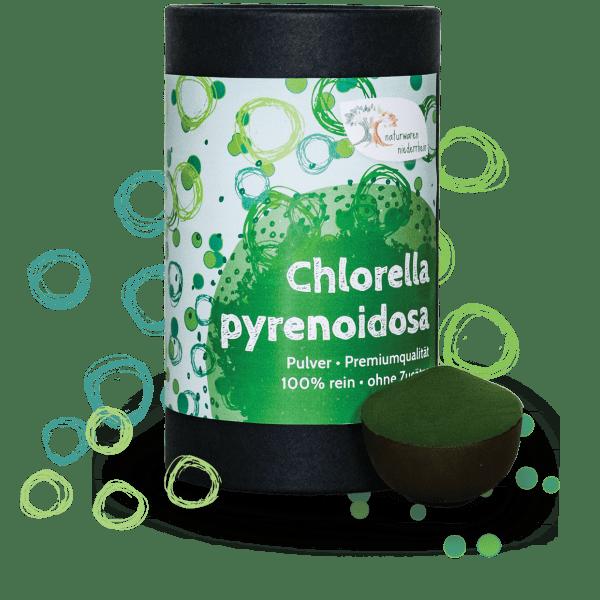 Premium Chlorella pyrenoidosa Pulver - 1kg - 500g - 250g