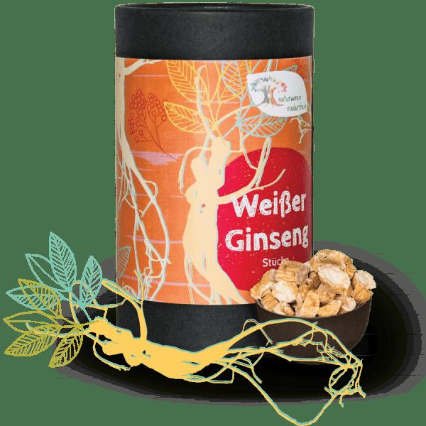 Ginseng Wurzel - geschnitten - Premiumqualität