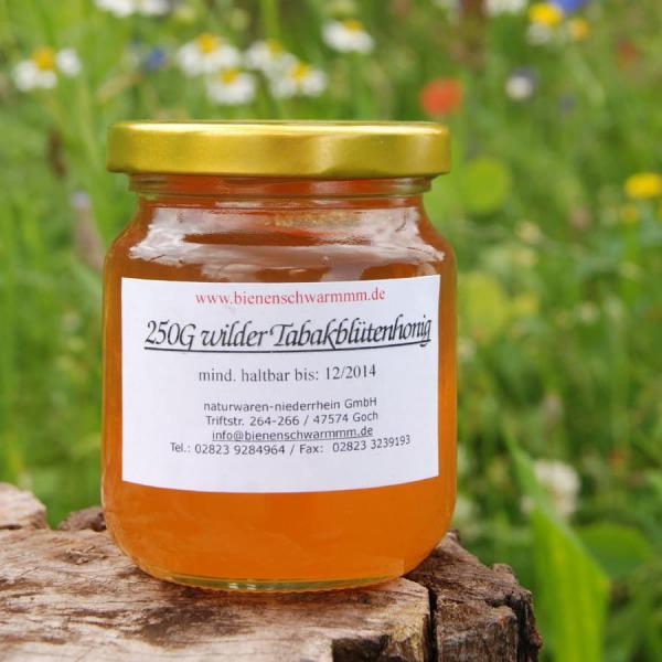 Wilder Tabakblüten Honig - 250 g 250g