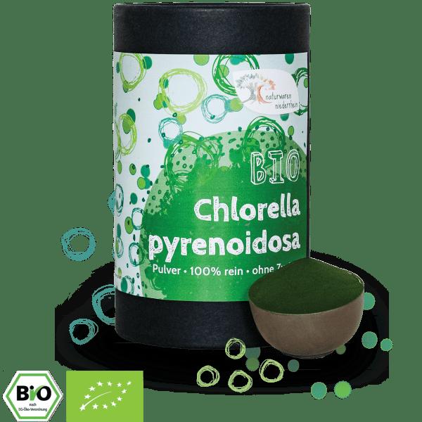 Bio Chlorella Pulver - Naturland zert. - 1kg - 500g - 350g - 250g