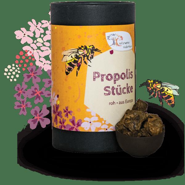 Propolis Stücke, roh - 1kg - 500g - 250g - 100g
