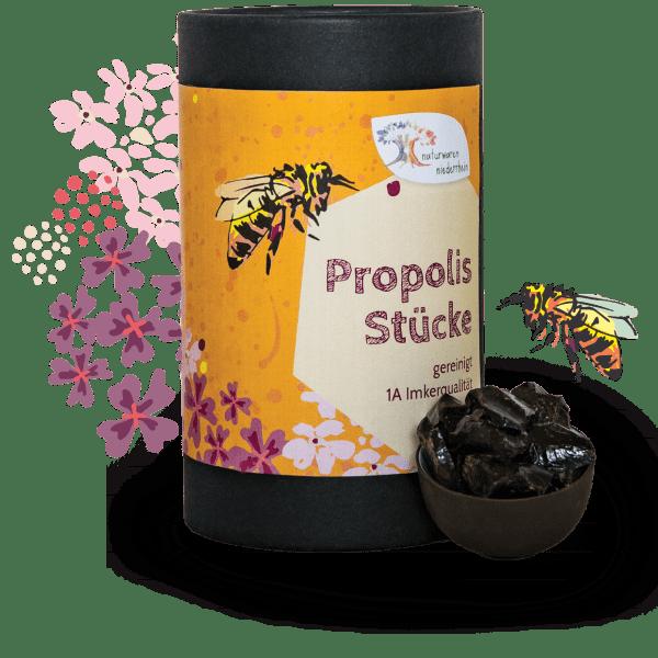 Propolis Stücke - gereinigt - 1kg - 500g - 250g - 100g