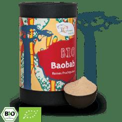 Bio Baobab Fruchtpulver 1kg - 500g - 250g - 100g