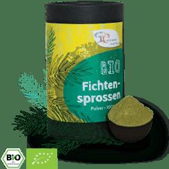 Bio Fichtensprossenpulver - mit viel Vitamin C
