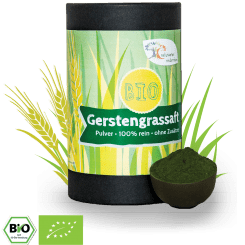 Bio Gerstengrassaft-Pulver