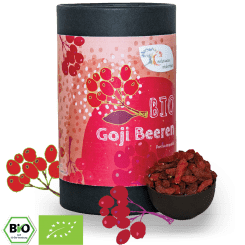 Bio Goji Beeren - 1 kg - 500 g - 250 g