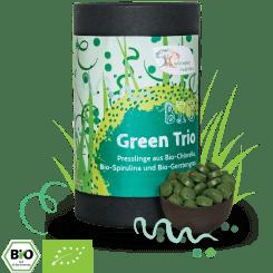 Bio Green Trio - Chlorella, Spirulina & Gerstengras - Presslinge