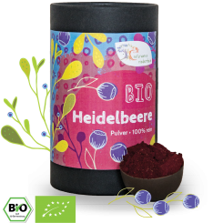 Bio Heidelbeerpulver